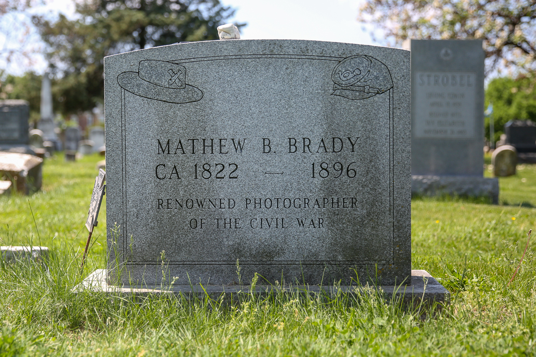 <p>Mathew Brady is considered the father of photojournalism. Brady was known for capturing scenes from the Civil War on both sides. Although he was aided by assistants, Brady photographed 18 presidents and created some of the most iconic images of the era. Brady's career faltered by the end of the war and he died alone. (Amanda Andrade-Rhoades/DC Refined)</p>