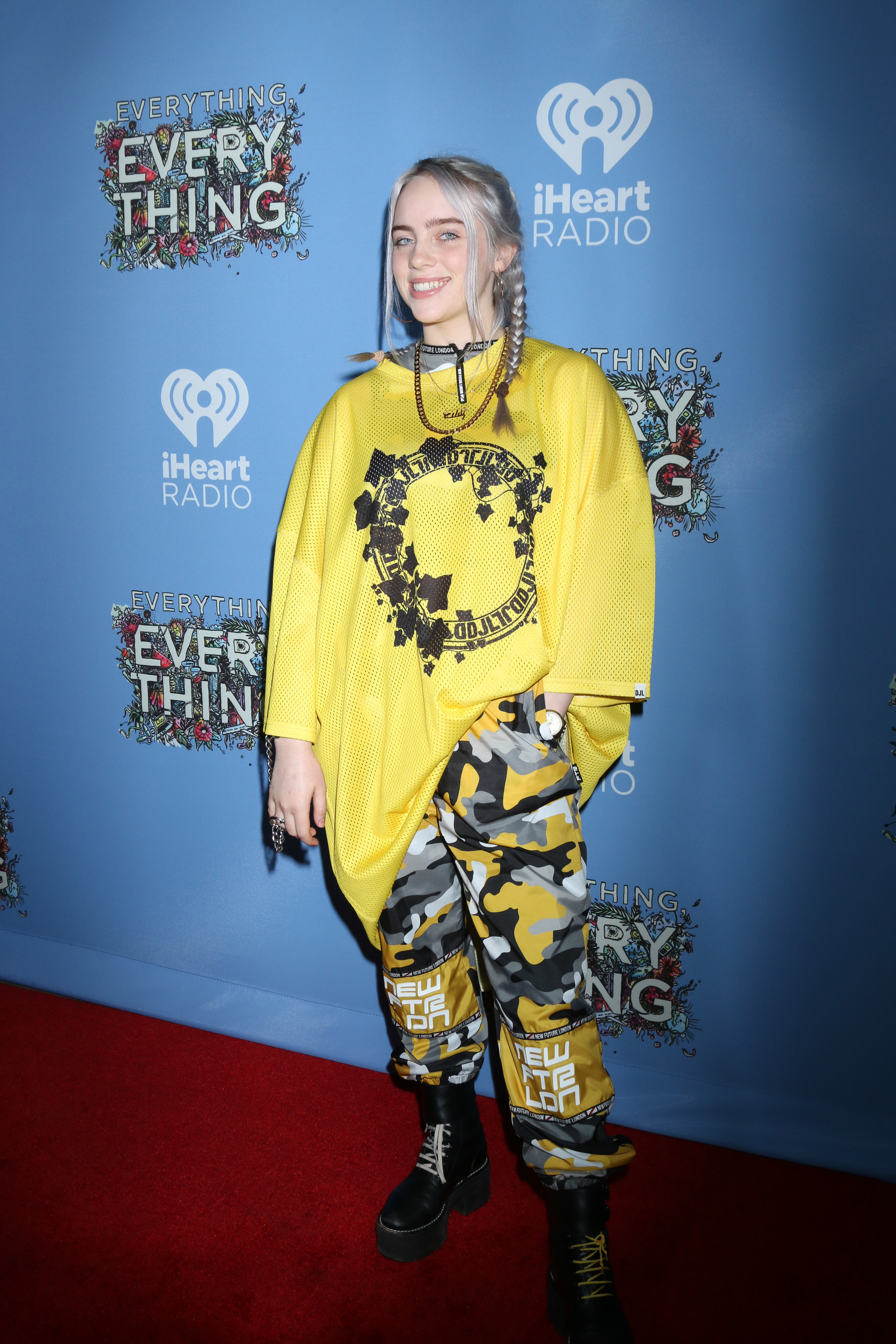 "The fourth headliner of the two-day festival will be Billie Eilish who just debuted her own show on Apple Music's Beats 1 Radio called ""Groupies Have Feelings Too."" (Image: Nicky Nelson/WENN.com){ }"