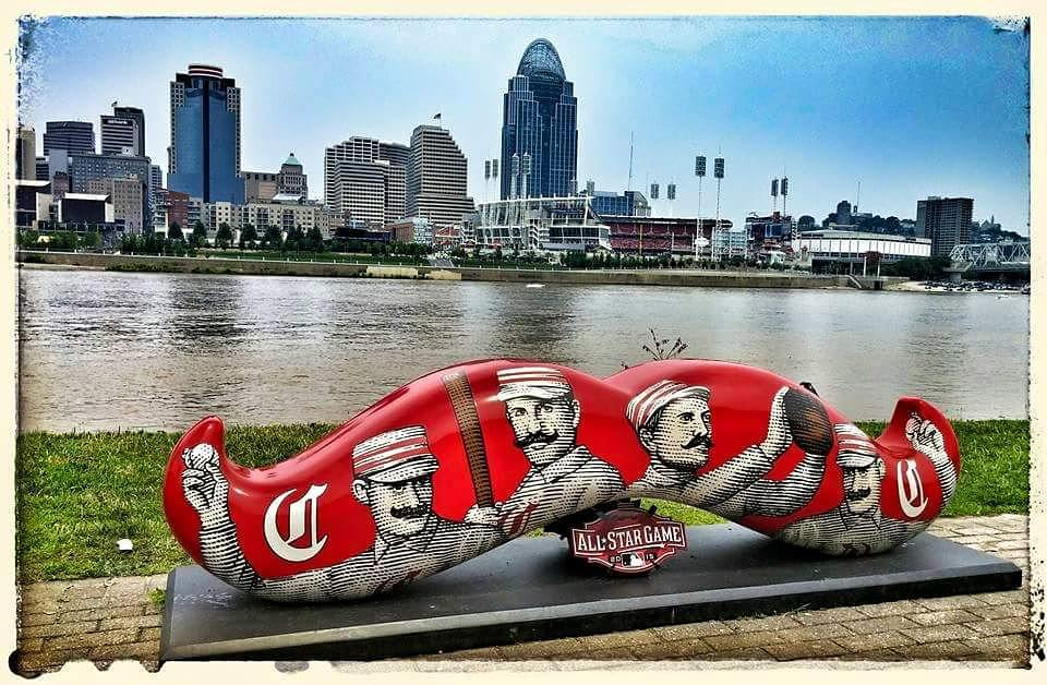 Post: Flashback Friday! So proud to have had the MLB All-STar Game in our fair city! I loved all the mustaches around town! / Image: IG user @ddaniels410 // Published: 7.20.17