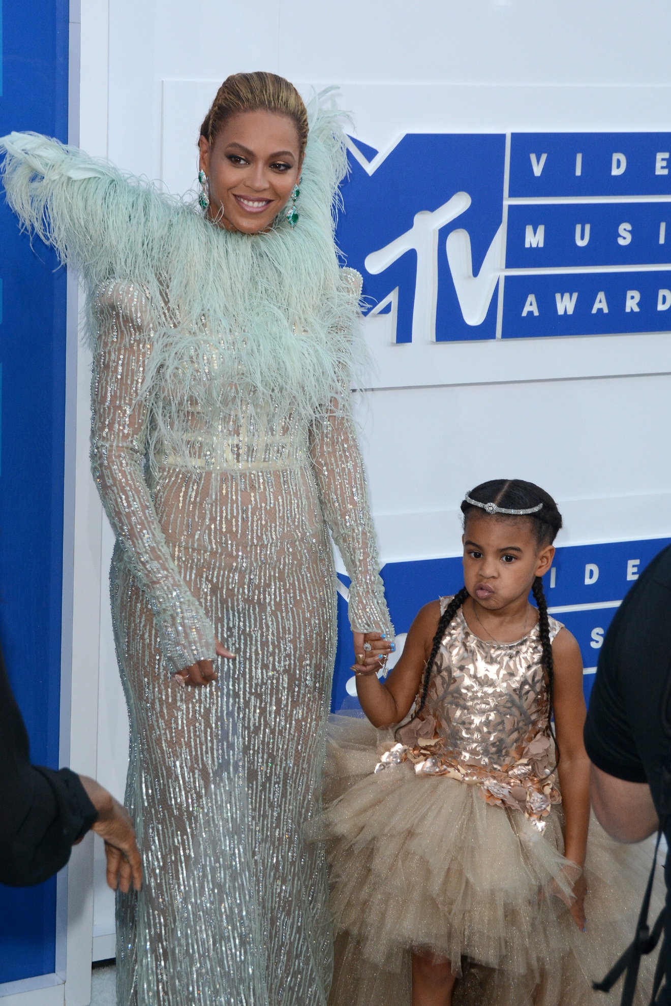 2016 MTV Video Music Awards - Red Carpet Arrivals  Featuring: Beyonce, Blue Ivy Carter Where: New York, New York, United States When: 29 Aug 2016 Credit: Ivan Nikolov/WENN.com