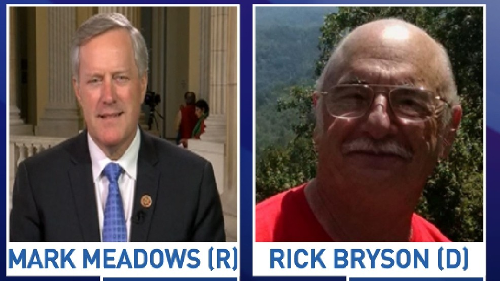 The debate between incumbent Mark Meadows and challenger Rick Bryson happens at the WCU campus. (WLOS file photo)
