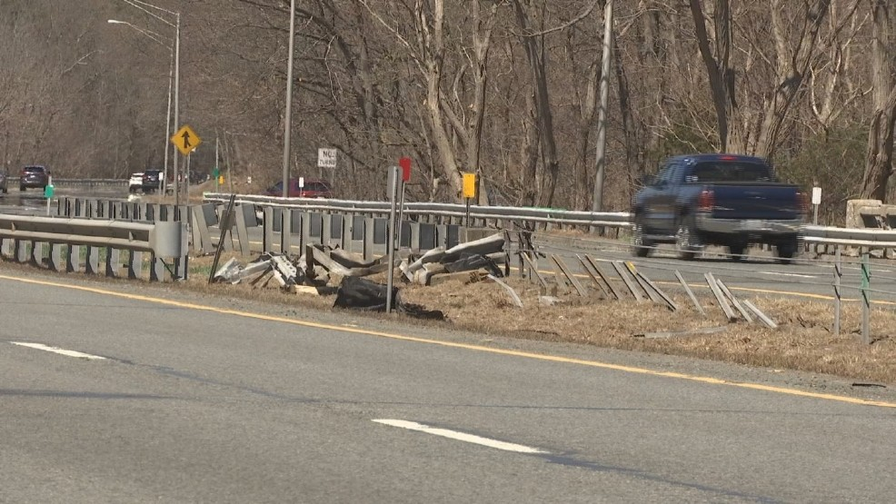 According to authorities, Demers was driving north on Route 146 near the Pound Hill Road exit when she lost control of her car, which struck the median and crashed into another car in the travel lane around 10:10 a.m. Tuesday, April 18, 2017. She was taken to Rhode Island Hospital, where she later died. (WJAR)