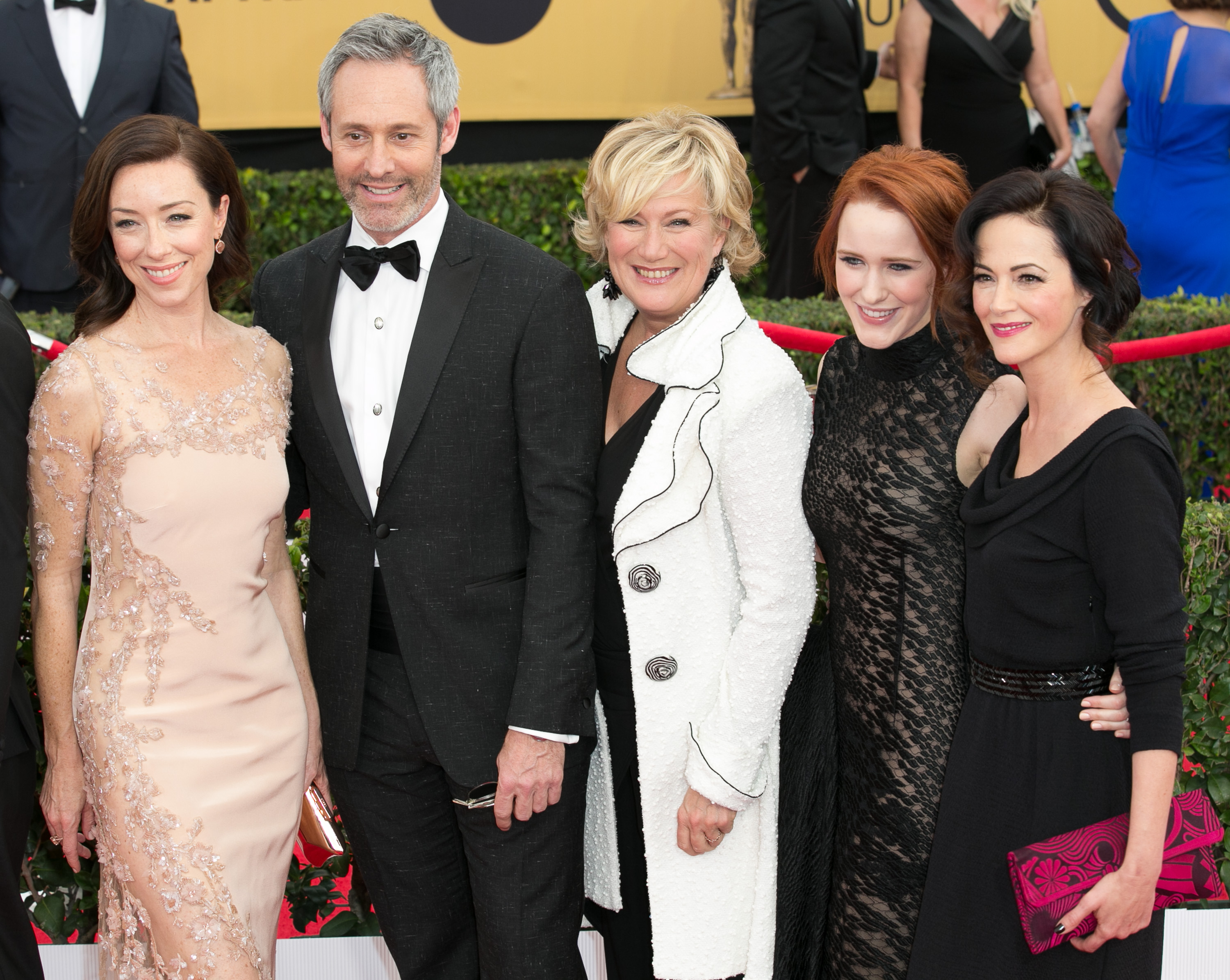 21st Annual SAG (Screen Actors Guild) Awards at Los Angeles Shrine Exposition Center - Arrivals  Featuring: Molly Parker, Michael Gill, Jayne Atkinson, Rachel Brosnahan, Joanna Going Where: Los Angeles, California, United States When: 25 Jan 2015 Credit: Brian To/WENN.com