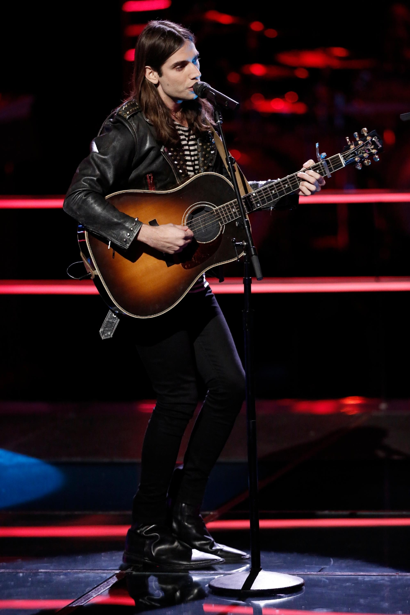 "THE VOICE -- ""Battle Rounds"" -- Pictured: Johnny Gates -- (Photo by: Tyler Golden/NBC)"