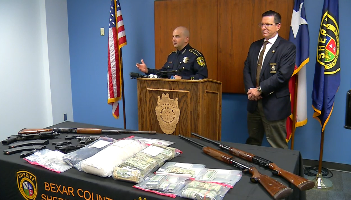 Bexar County Sheriff's Office and DEA make $1 million drug bust on San Antonio's southwest side on Tuesday, April 3, 2018. (Photo: Sinclair Broadcast Group)