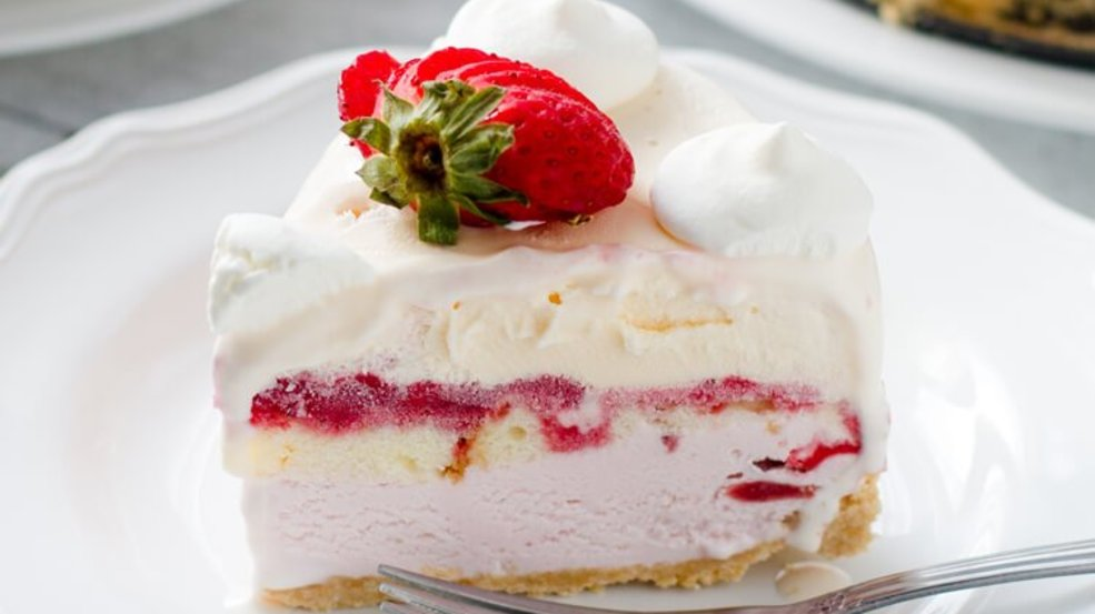 Strawberry Shortcake Ice Cream Cake Wluk