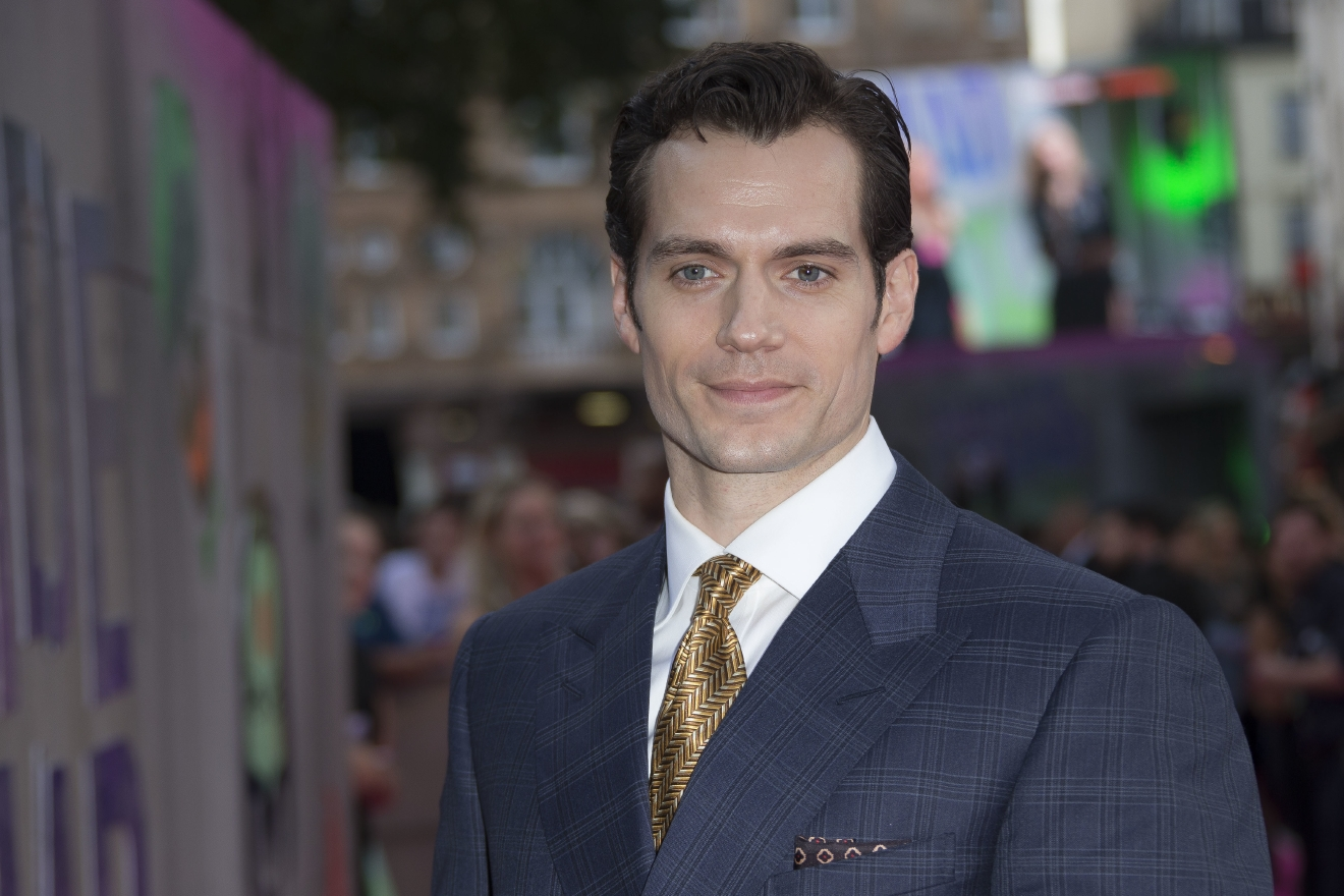 In this Wednesday, Aug. 3, 2016 file photo, actor Henry Cavill poses for photographers upon arrival at the European Premiere of Suicide Squad, at a central London cinema in Leicester Square.  (AP Photo/Joel Ryan, File)