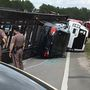 Gulf Shores, Ala. man facing multiple charges after the vehicle he was driving overturns