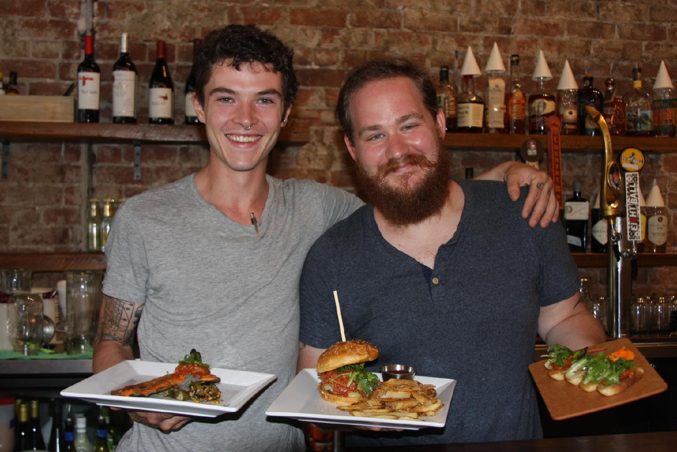 Colin Meddings and Joe Scheidenberger, Chef de Cuisine and Sous Chef / Image: Molly Paz