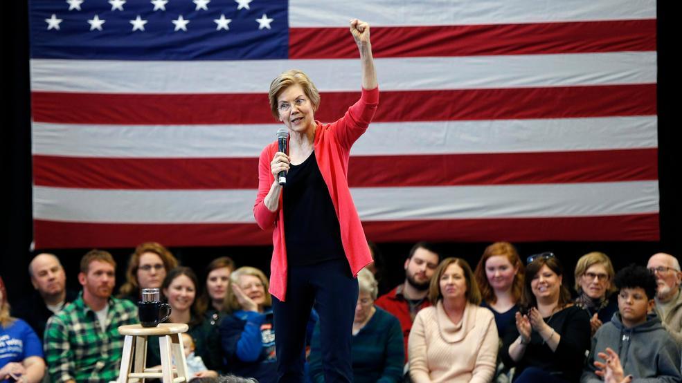 Live: Sen  Elizabeth Warren attends MLK Day event in Boston
