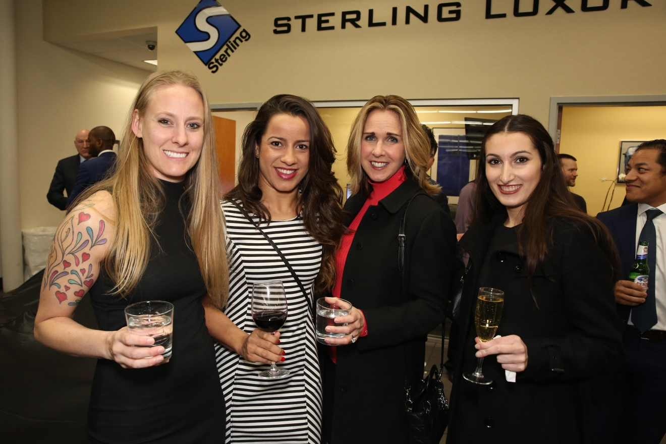 Left to right, Dana Bridger, Fabran Borges, Amy Aquilino, and Celia Gonrand.