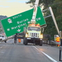 Deadly crash brings down huge overhead sign on Hwy. 99; northbound lanes closed