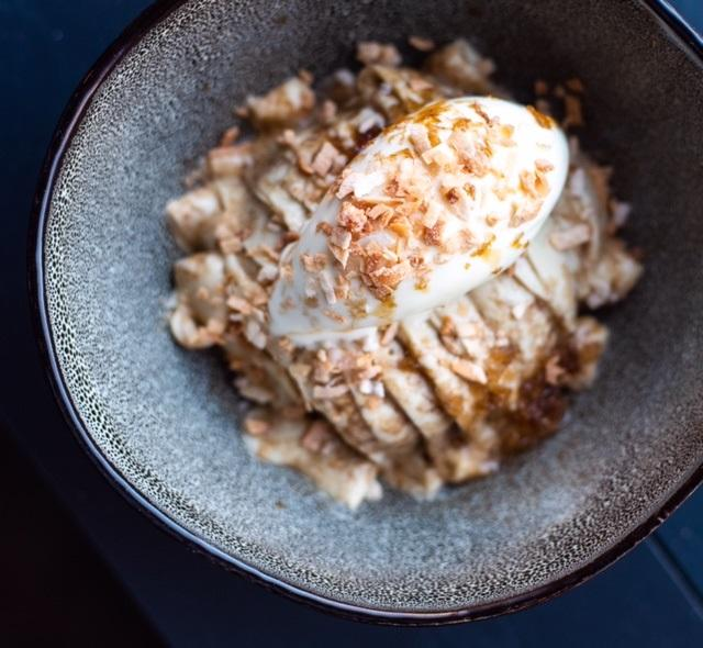 Coffee granita at Rooster and Owl. (Image: Kelli Scott)