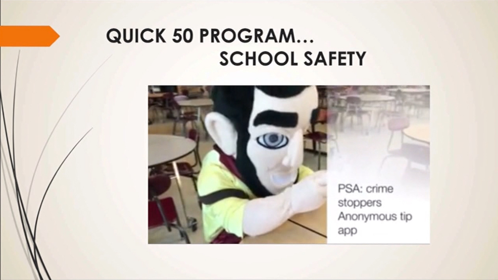 Quick 50 Program Allows Students to Get Paid for Reporting Crimes Anonymously