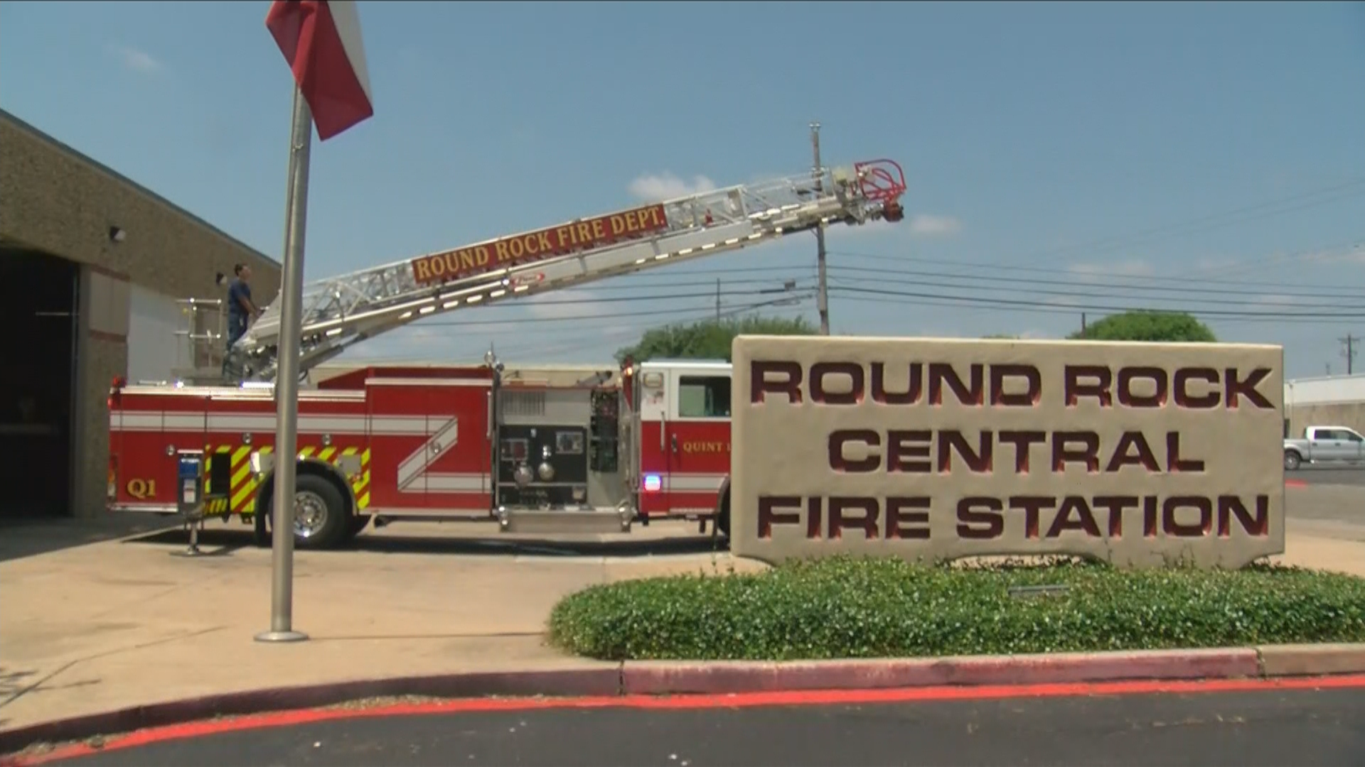 As Round Rock's population continued to grow, the city's fire department is using data-driven science to improve safety. (CBS Austin)