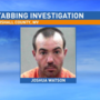 Stabbing victim arrested in Marshall County