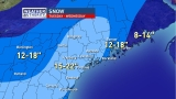 Powerful nor'easter expected to slam Maine with over a foot of snow