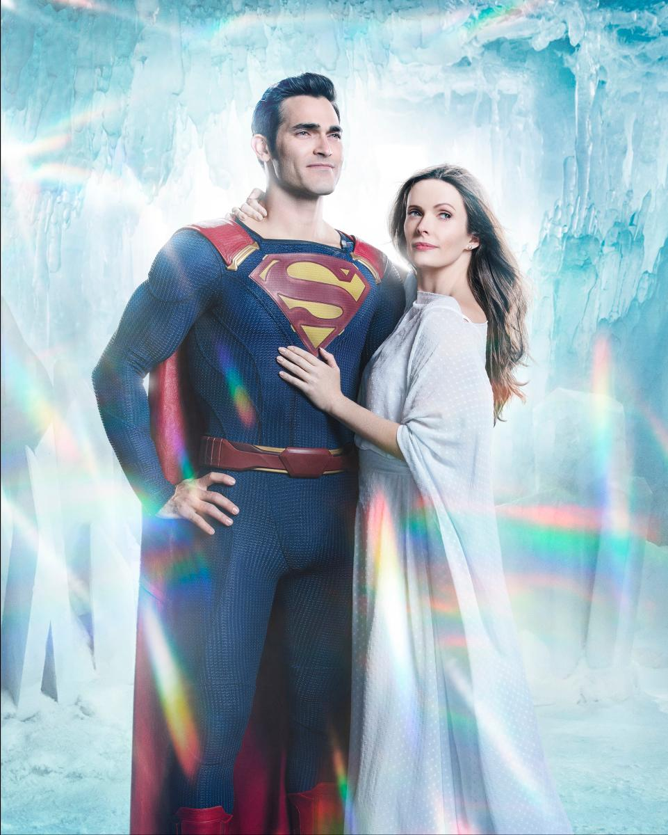 Supergirl -- Image Number: Superman-Lois_Firstlook.jpg -- Pictured (L-R): Tyler Hoechlin as Superman and Bitsie Tulloch as Lois Lane -- Photo: Katie Yu/The CW -- �© 2018 The CW Network, LLC. All Rights Reserved.