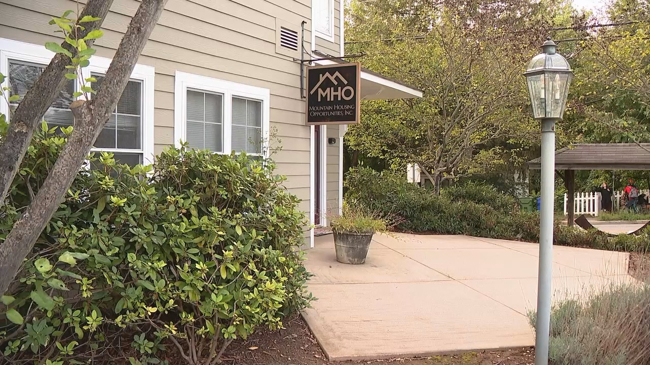 The MHO Renter Relief Fund and UNC Asheville's Thrive Program have been set up to help renters during the COVID-19 pandemic. (Photo credit: WLOS staff)