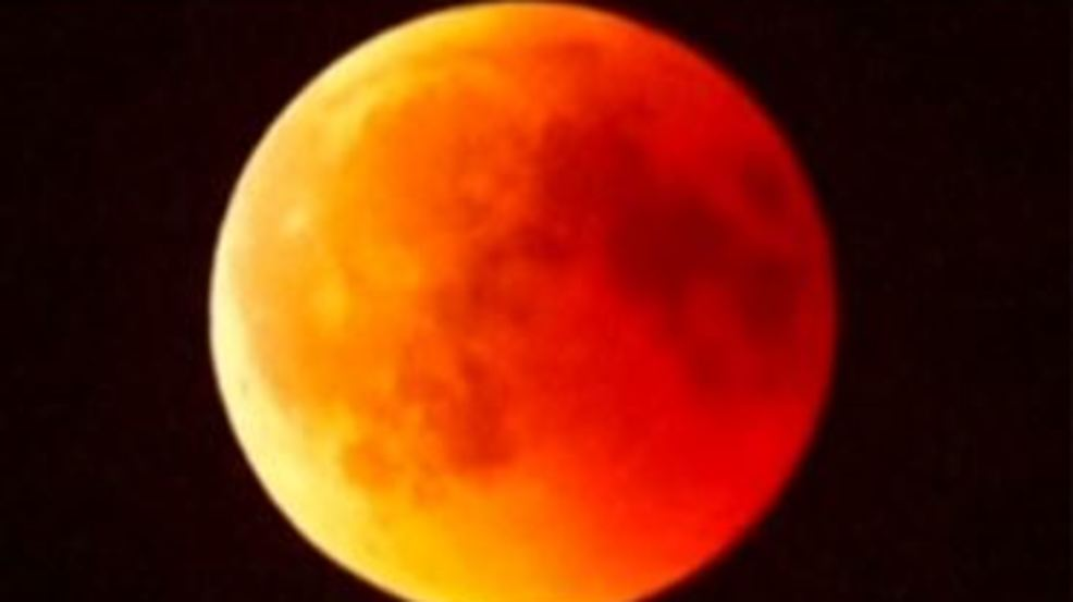 Total Lunar Eclipse Tonight We May See It Wstm