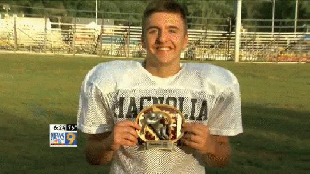 Week 4: Hancock County Chrysler Dodge Jeep Ram/WTOV9 Player of the Week, Tyler Anderson, Magnolia