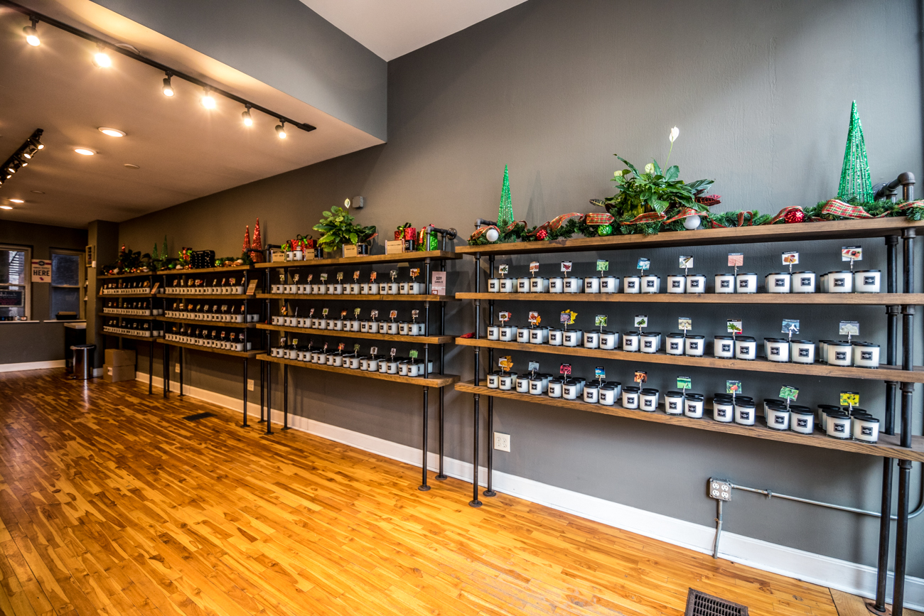 You could go to any home decor store and buy a candle, but have you ever made one yourself? The Candle Lab in Over-the-Rhine has over 100 different scents to choose from, which you then narrow down to a few and combine into a jar. Consider making one for your bud and letting them make one for you (so long as you trust their nose). / Image: Catherine Viox // Published: 2.8.20