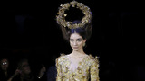 Funky haute couture fashion hits catwalks at Paris Fashion Week