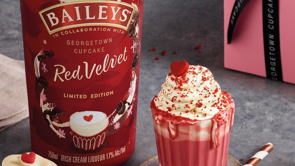 Have your cupcake and drink it too: Baileys launches heavenly 'Red Velvet' flavor
