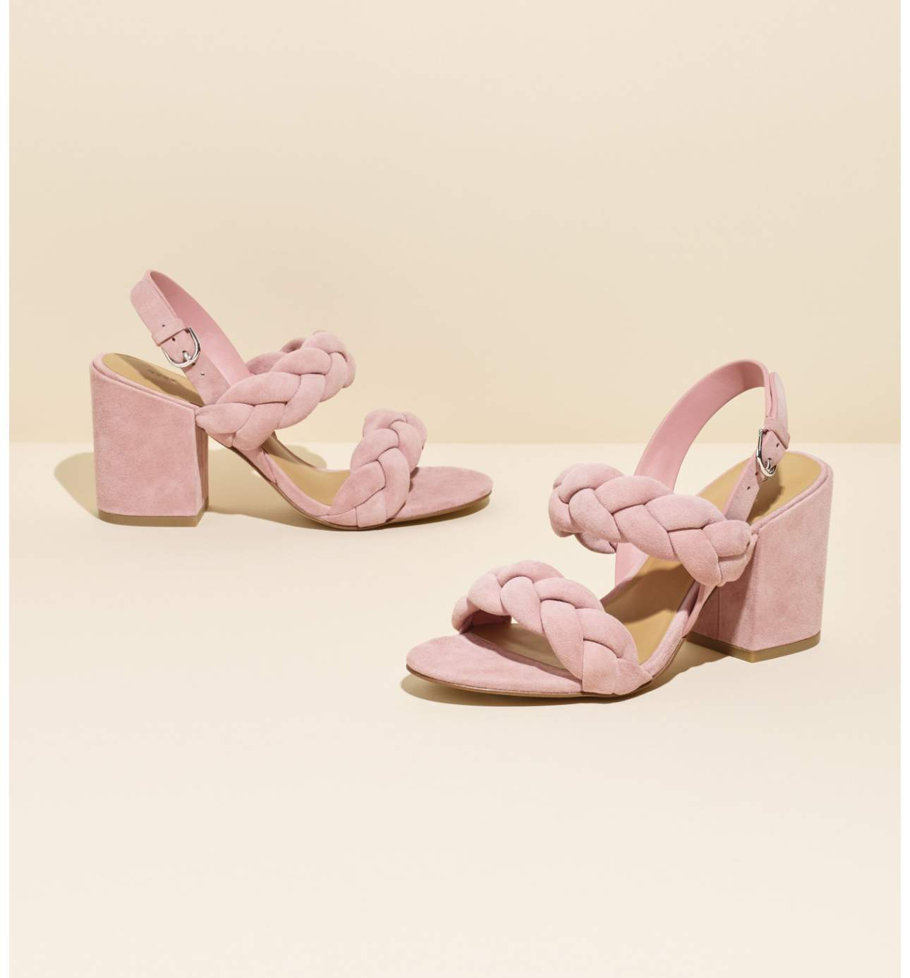 <p>The best way to walk into a new season is with a great pair of shoes.  We've rounded up 6 shoes every Seattle gal NEEDS this Spring, starting with this darling 'dusty rose' block heel sandal.  The braided straps and a bold block heel make this sandal a modern must-have. Candace Block Heel Sandal - $164.95. (Image: Nordstrom) </p><p></p>