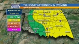 Slight risk for severe weather across Oklahoma Thursday