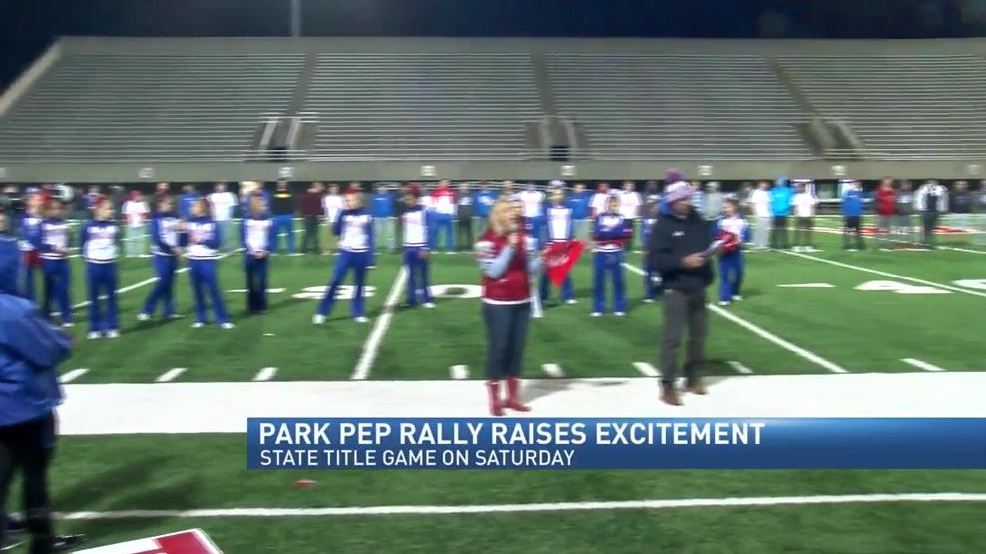 VIDEO - Wheeling Park Hosts State Title Game Saturday, Working From Visitors Locker Room