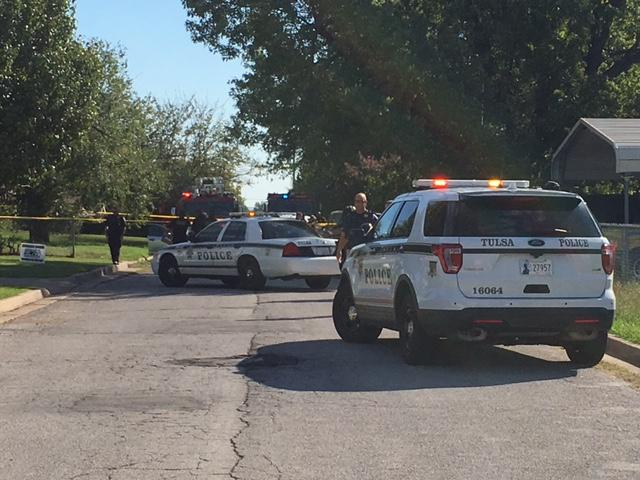 Officers responded around 10:05 a.m. Thursday to a home near 56th Street North and M.L.K. Jr. Boulevard. (KTUL)