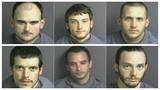 Sheriff: Six charged in string of Franklin Co. break-ins, 1 currently wanted