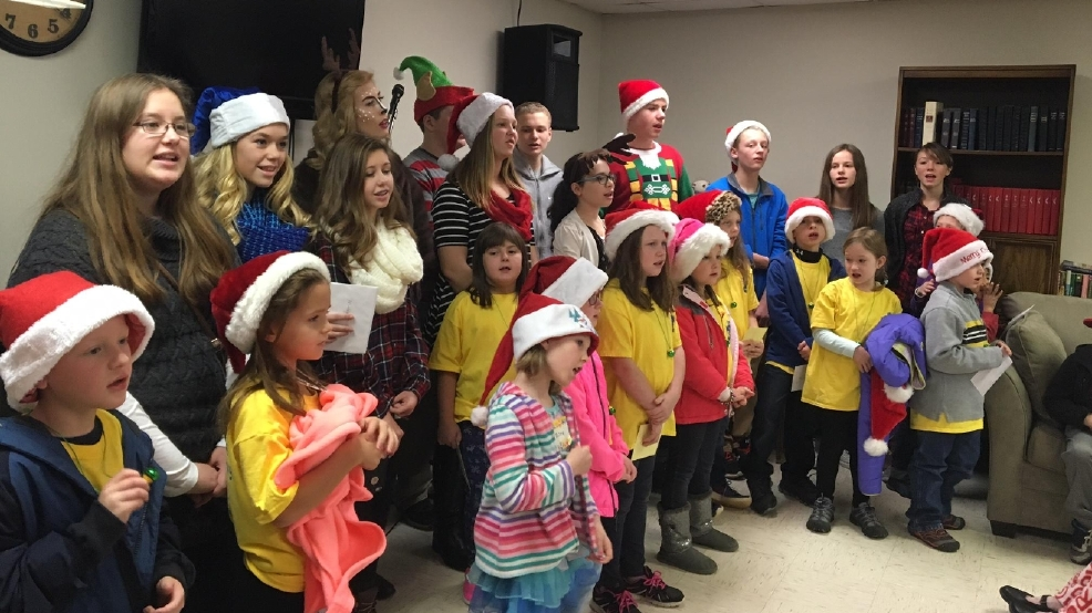 Mcdowell county 8th graders lift spirits carol for - Pleasant garden elementary school ...