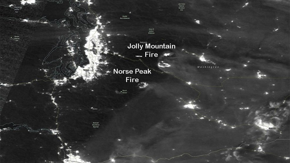 New high-tech satellite to greatly help in the fight against Northwest wildfires