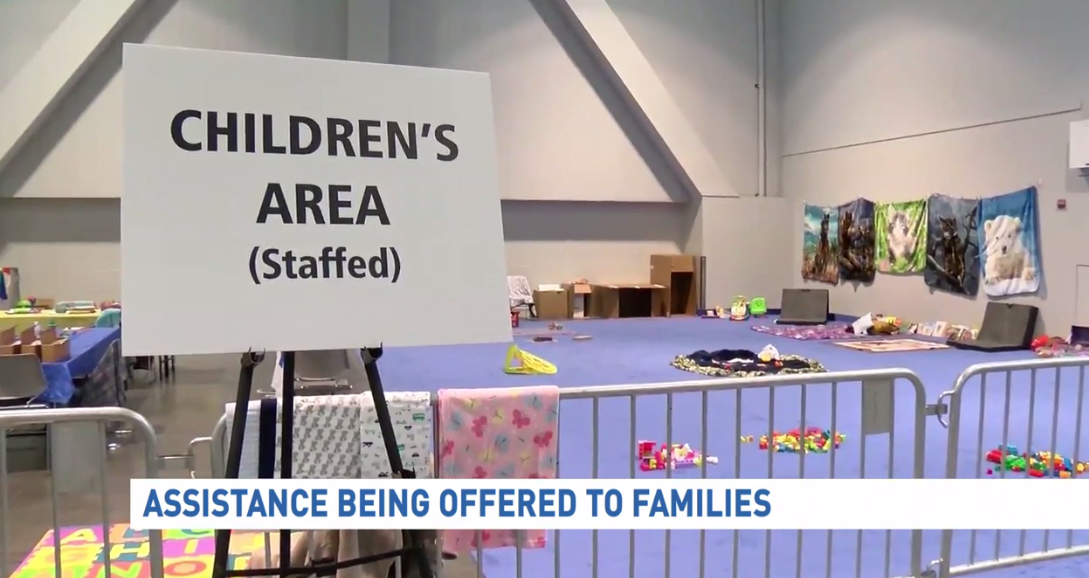 The Clark County Family Assistance Center is a safe space only for the victims and families of Sunday's mass shooting in Las Vegas. (KSNV)