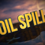 Oil spill in the Gulf of Mexico after an underwater pipe bursts