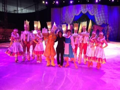 "FOX 25 Morning News' Terre Gables meets the ""Disney on Ice"" cast"