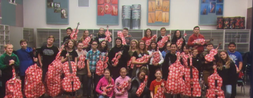 Ellen gives Utah orchestra teacher big surprise (Photo: Ellen Show){&amp;nbsp;}<p></p>