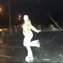 WATCH: Ice on Watertown parking lot enough to skate on