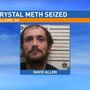 Meth seized following arrest in Bellaire