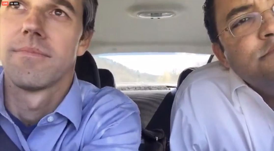 Bipartisan road trip: Republican Rep. Will Hurd and Democratic Rep. Beto O'Rourke