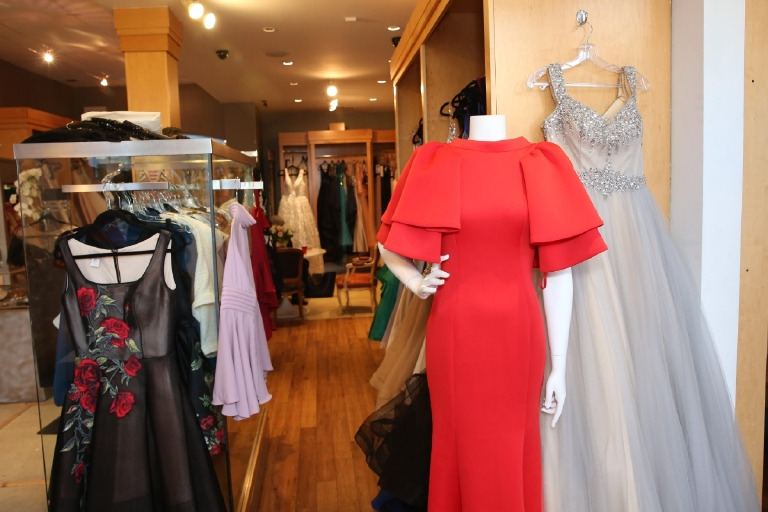 Alternative facts aside, Signature  Boutique usually sells about 20 dresses a day ahead of inauguration. However, the Trump inauguration brought that number to about three dresses a day, according to owner Gilda Mizrahi. This weekend, the Georgetown boutique will be selling their inauguration gowns for 30% off. Prices range from $300 to $3,000, but if you're heading to another gala or just holding onto hope for 2020 this is definitely the time to snag a gorgeous gown. (Amanda Andrade-Rhoades/DC Refined)