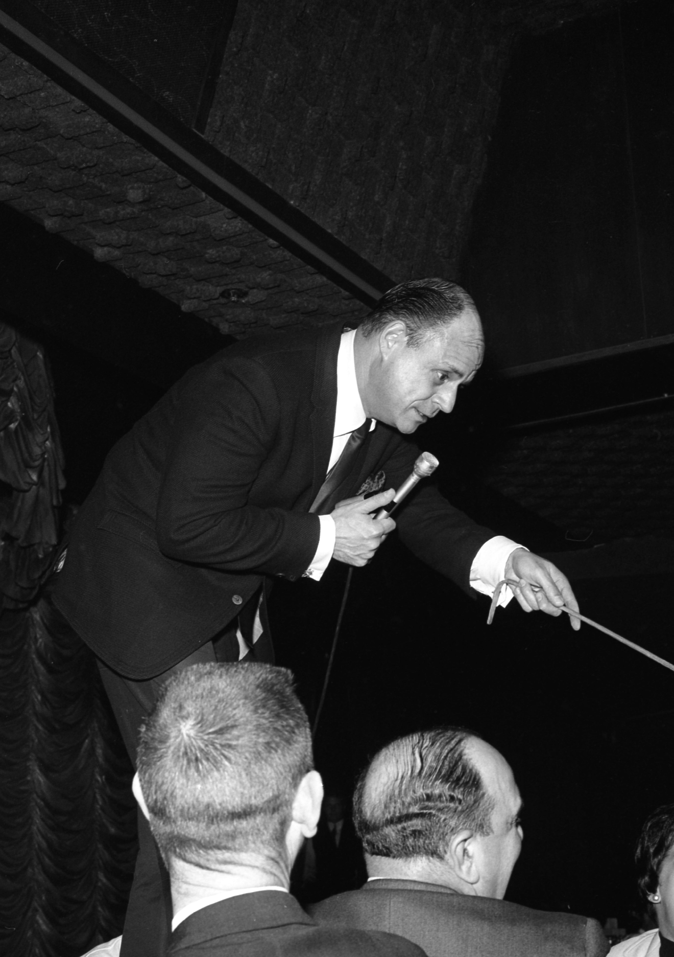 Don Rickles at the Sahara on May 10, 1960. [Las Vegas News Bureau file photo]
