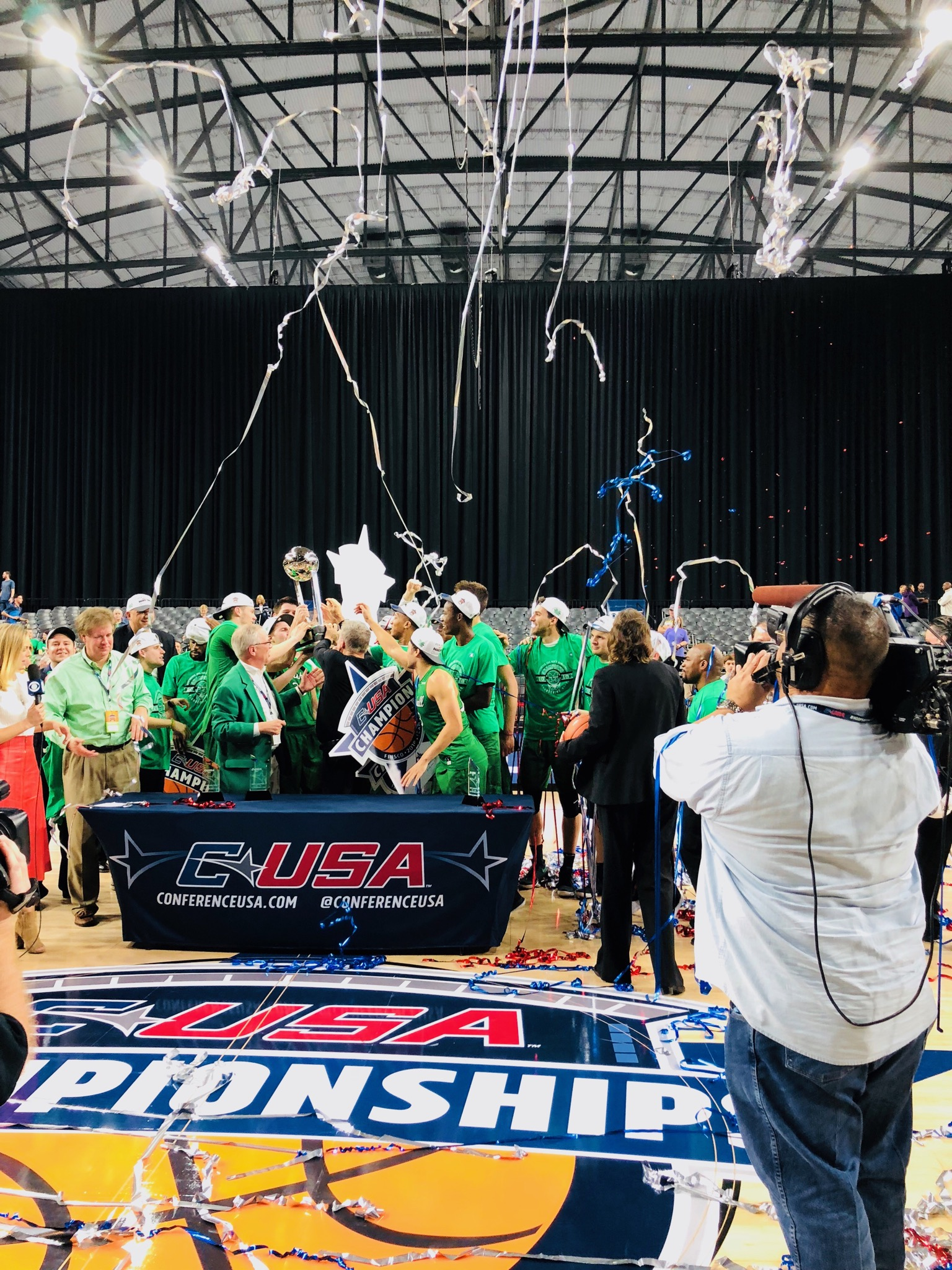 For the first time since 1987, the Marshall Thundering Herd is in the NCAA Tournament. (Marshall University, Sabrena Hirst)