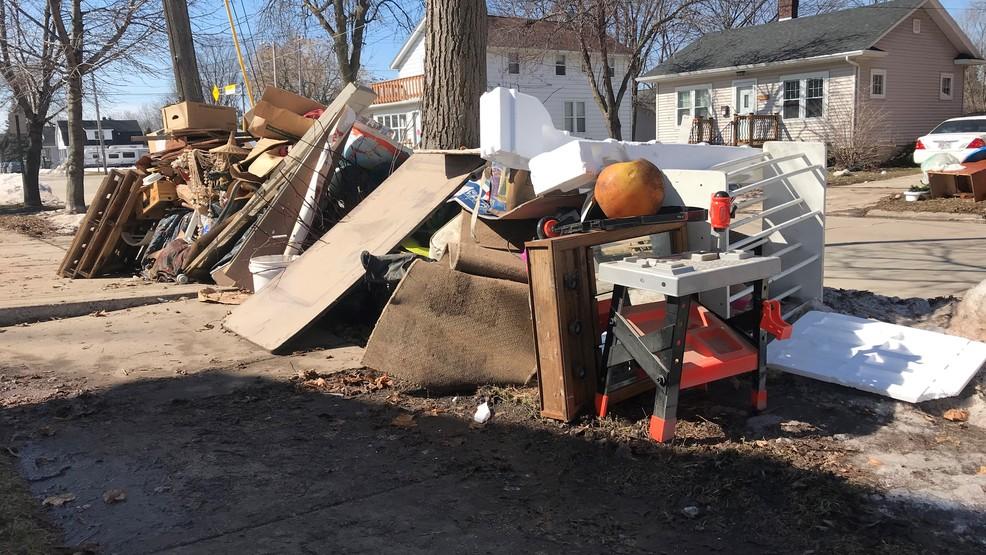 City inspectors still visiting homes damaged by flood