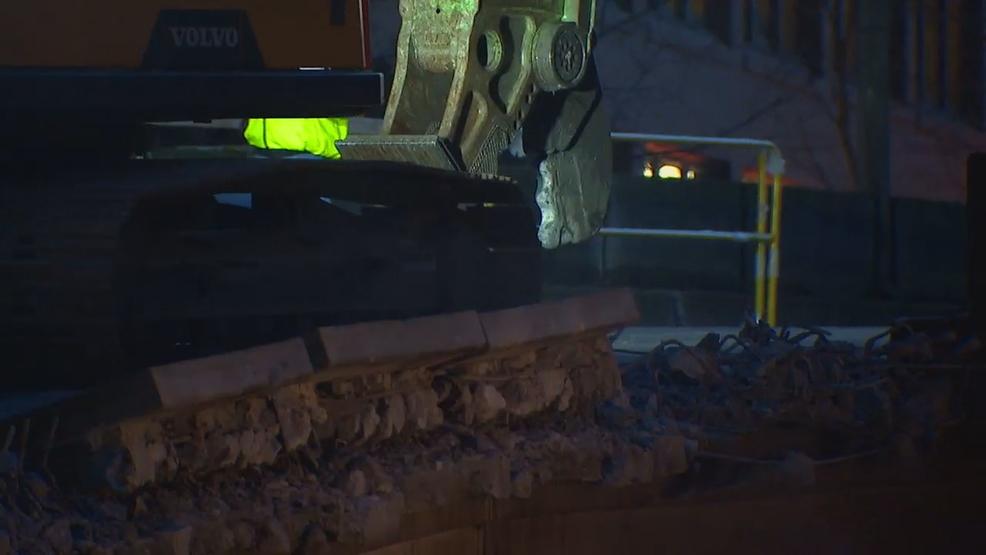 Alaskan Way Viaduct demolition has officially begun
