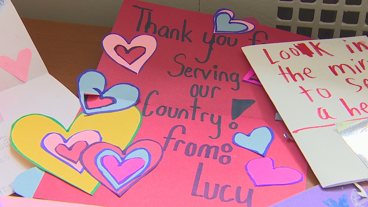 seattle area students took part in valentines for veterans and crafted valentines day - Valentines For Students