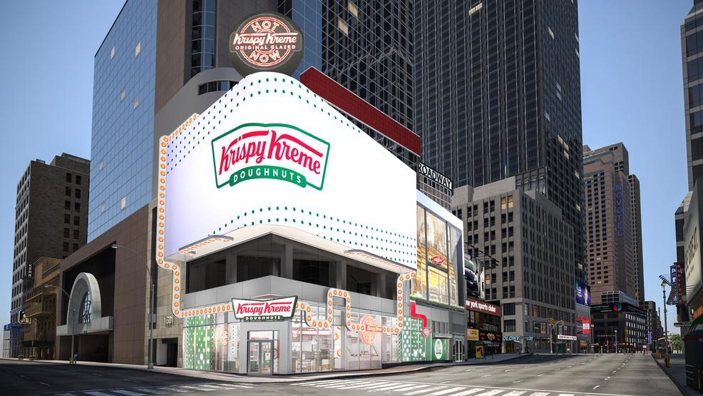 Krispy Kreme opening 24-hour flagship in Times Square in 2020