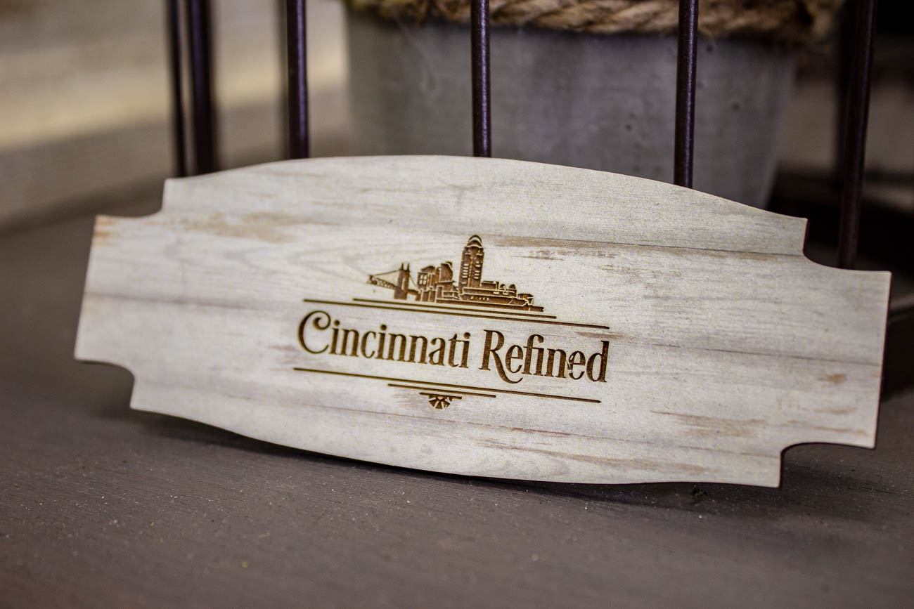 This engraved magnet was one of the best pieces in the shop. / Image: Katie Robinson, Cincinnati Refined // Published: 6.8.19